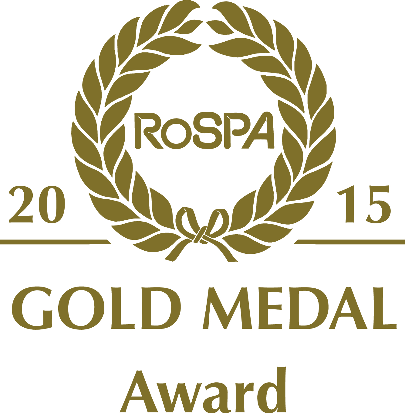 gold MEDAL award 2015