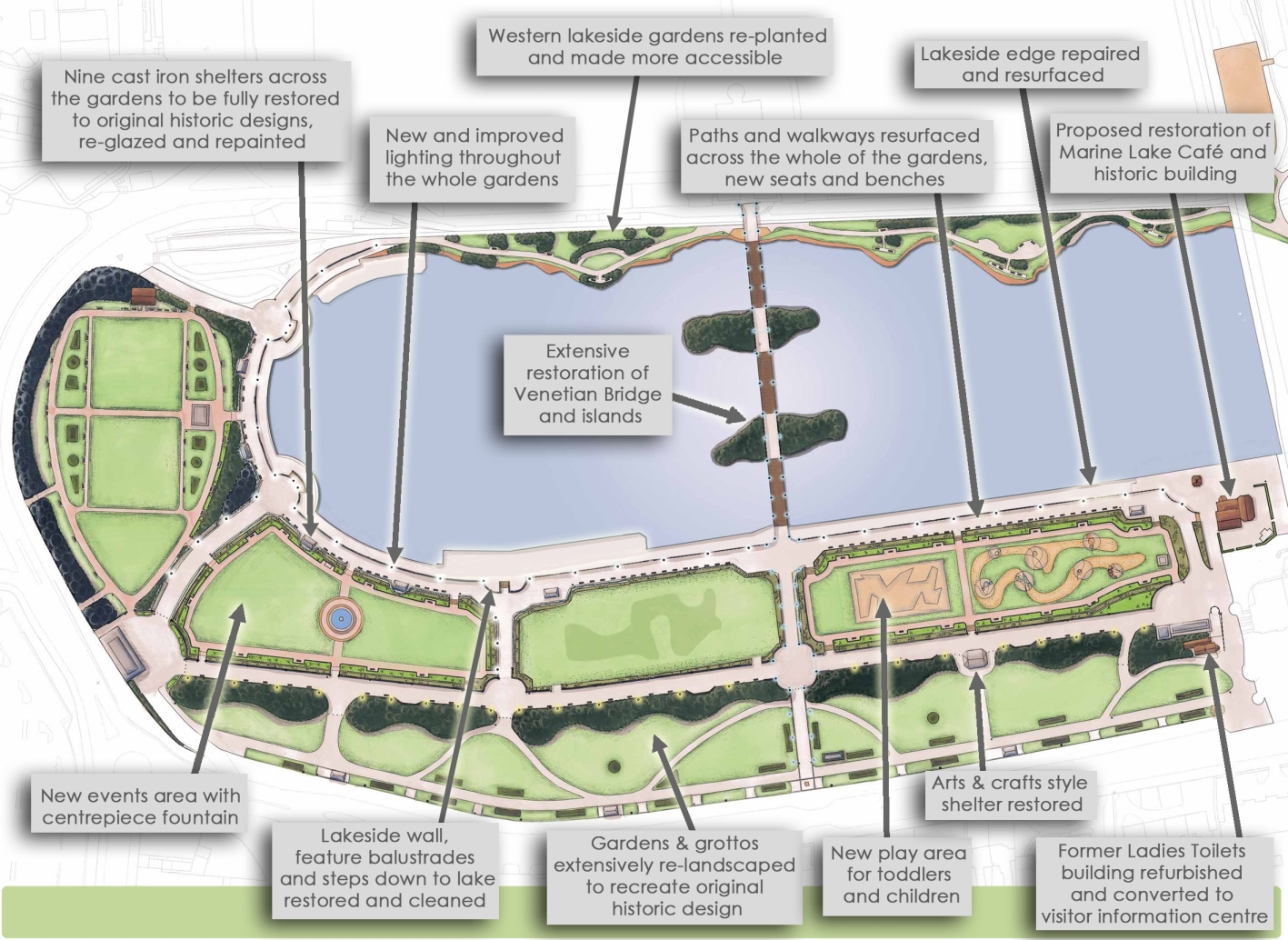 Casey to restore King's Park, Southport